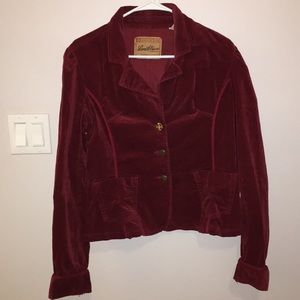 Vintage Maroon Levi Strauss blazer size L